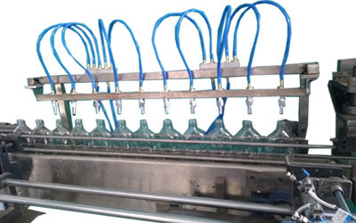 Glass-Bottle Cleaning Machine